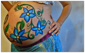 paso final belly painting
