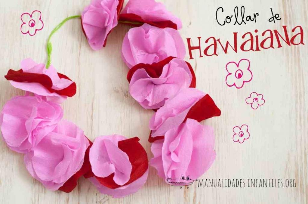 manualidades-collar-de-hawaiana