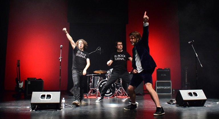El rock suena en familia, Teatro Fígaro, Madrid