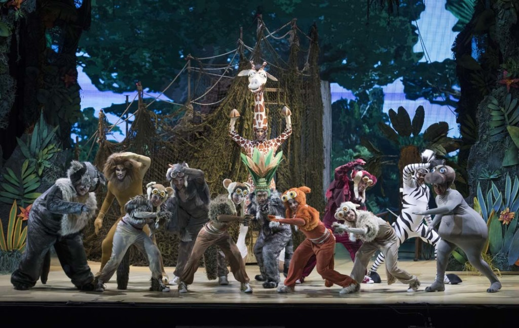 Madagascar - El musical en vivo