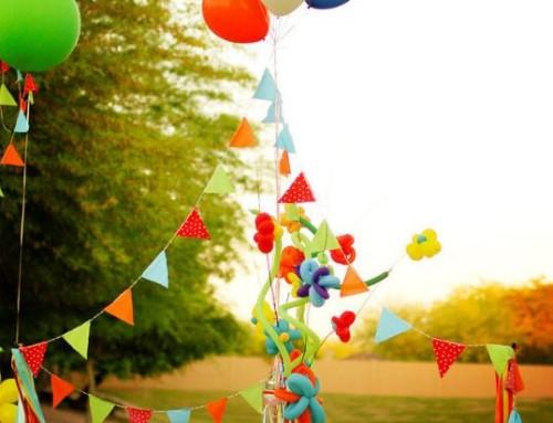 Cumpleaños al aire libre – Dando la Nota