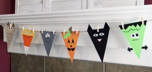 banderines halloween 2019