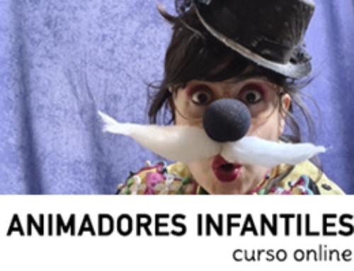 CURSO ANIMADORES INFANTILES ONLINE